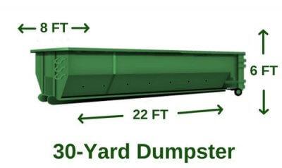 rent 30 yard dumpster utah